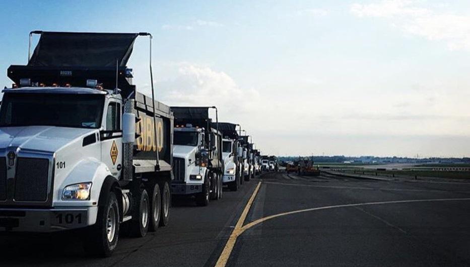 Gibco Construction Kenworth T880 Dump Trucks