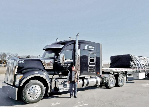 Keim TS Kenworth W990 Truck