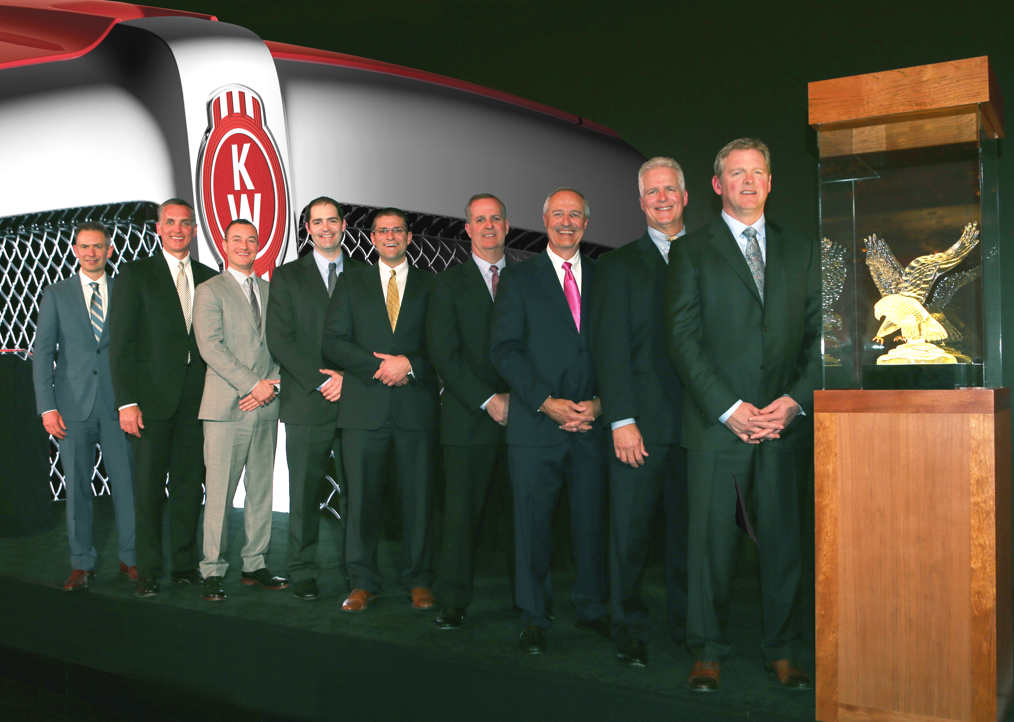 Kenworth Dealer of the Year Award for MHC Kenworth - Colorado