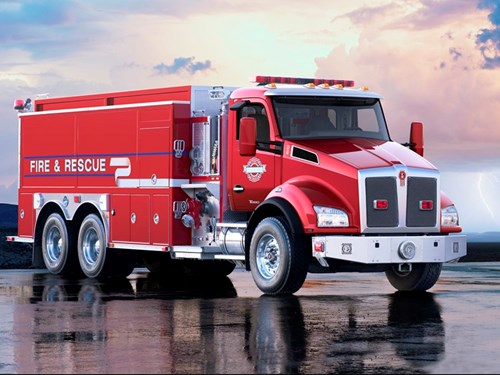 Kenworth National Fire Protection Association Prep Kit for T680