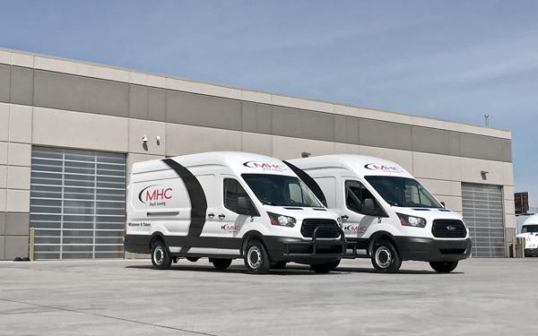 MHC Truck Rental Ford Transits