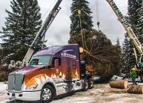 2017 Capitol Christmas Tree Tour Featuring the Kenworth T680 Truck