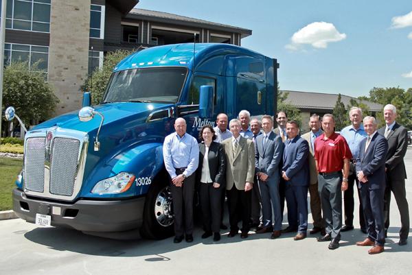 Melton Truck Lines Milestone Kenworth Truck