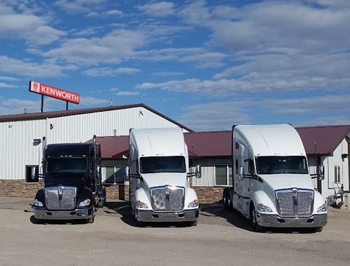 MHC Kenworth - Cheyenne Dealership front