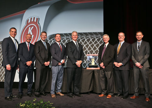 MHC Kenworth Earns PACCAR MX and Medium Duty Engine Dealer of the Year Award from Kenworth in 2016