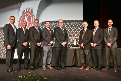 MHC Kenworth Earned Medium Duty Dealer of the Year and PACCAR MX Dealer of the Year Awards from Kenworth.