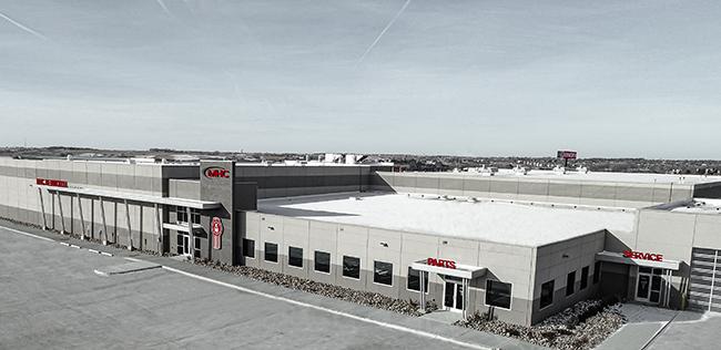 MHC's truck dealership in Omaha, Nebraska