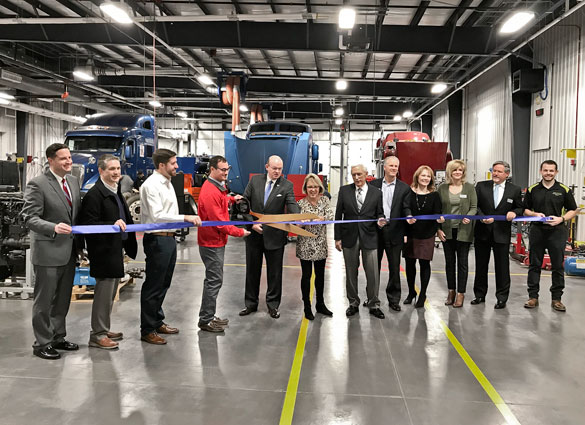 Ozark Technical Community College (OTC) Diesel Technician Training Facility Ribbon Cutting Ceremony