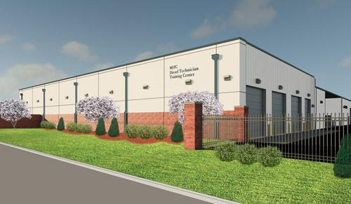 OTC MHC Diesel Tech School Rendering