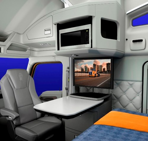 T680 Sleeper with Satellite TV Package