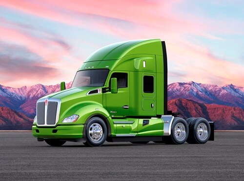 Kenworth T680 Advantage Package with 52-inch Mid-Roof Sleeper