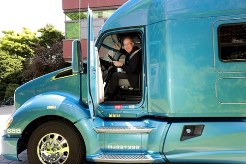 Kenworth Honored by Seattle University