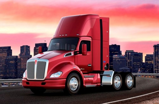 Kenworth T680 day cab truck