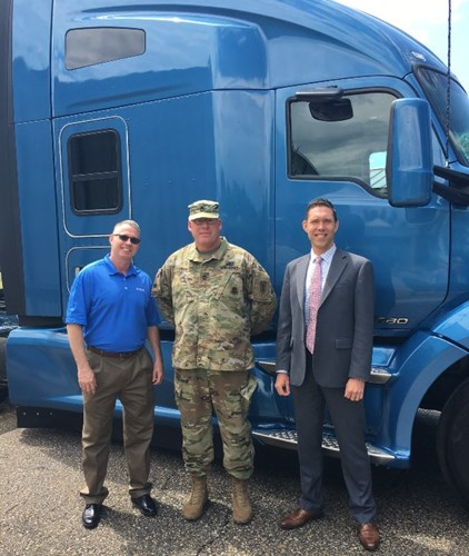 Kenworth T680 76-Inch Sleeper Featured at Transportation Forum in Fort Riley