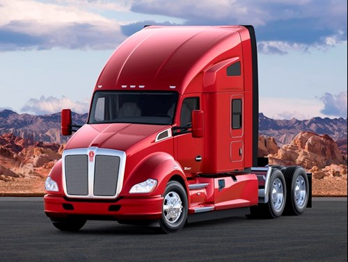 Kenworth T680 Sleeper with Aero Advantage Fairing