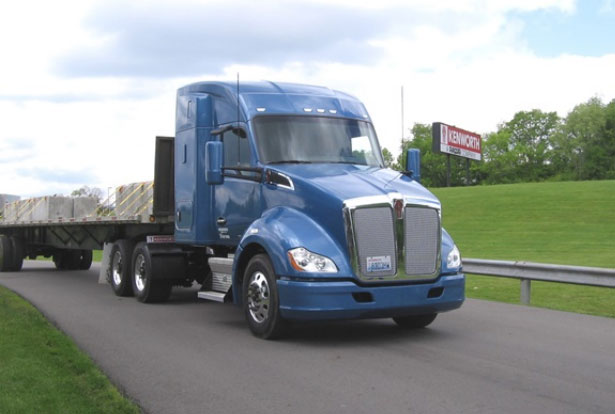 Kenworth T680 52-inch mid-roof sleeper with the PACCAR MX-11 engine