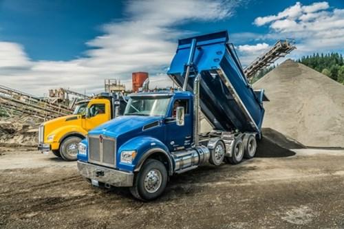 Kenworth T880 dump trucks