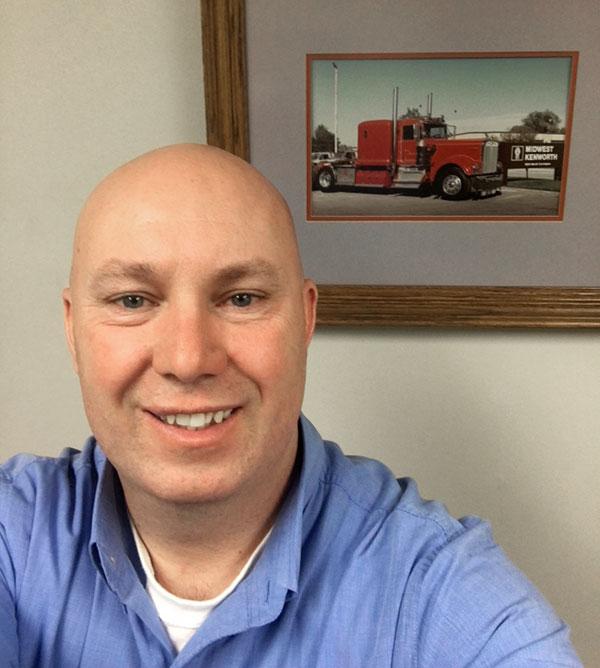Forest Durnil, truck salesperson at MHC Kenworth